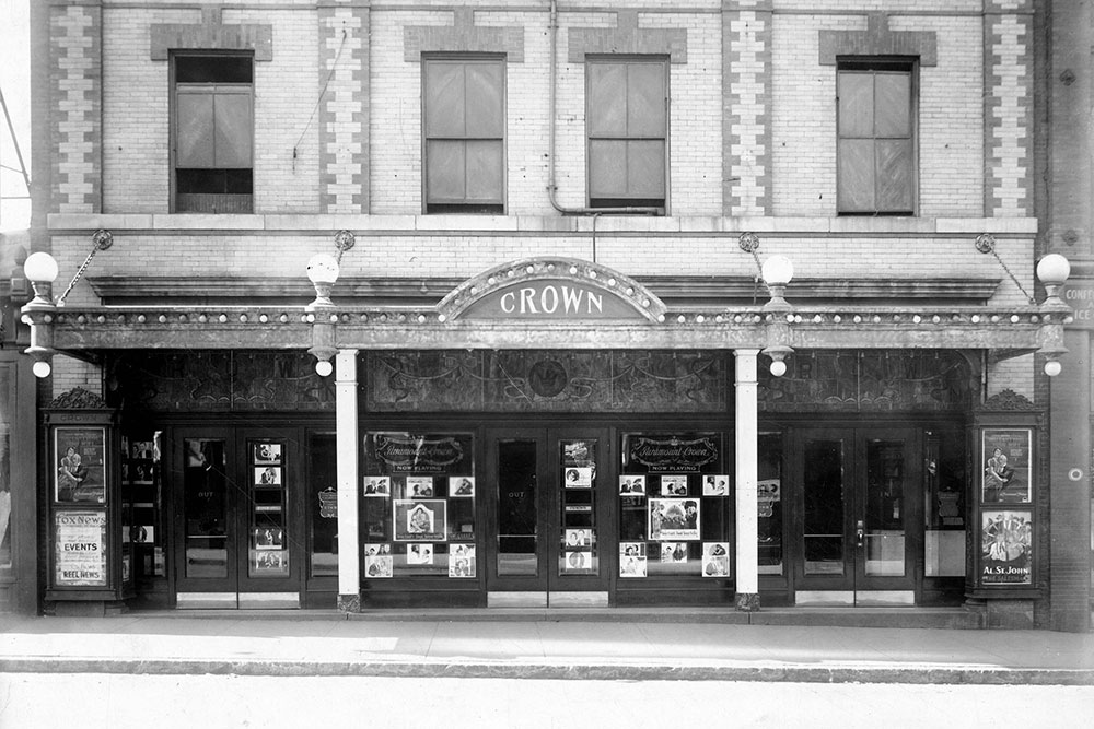 History of Manchester's Crown Theater | The Crown Tavern